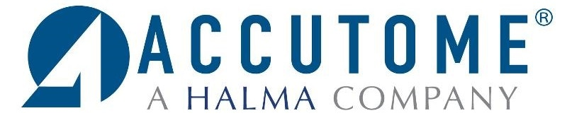 Accutome, Inc. logo.