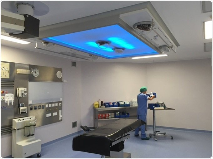 Operating Room Surgical Lighting Double