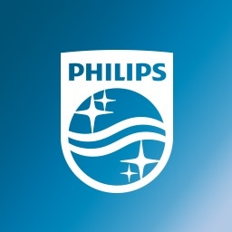 Philips Healthcare logo.