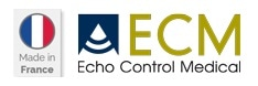 ECM Echo Control Medical logo.