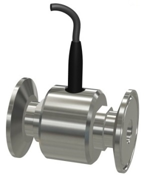 Stainless Steel Tri-Clamp Turbine Flow Sensor from Equflow BV