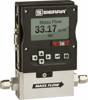 MicroTrak 101 Ultra Low-Flow Gas Mass Flow Meters & Controllers from Sierra Instruments
