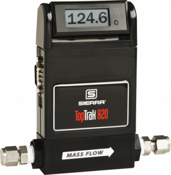 TopTrak 820 Ecomonical 800 Series Mass Flow Meters from Sierra Instruments