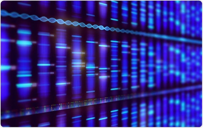 DNA sequencing. Image Credit: ktsdesign / Shutterstock