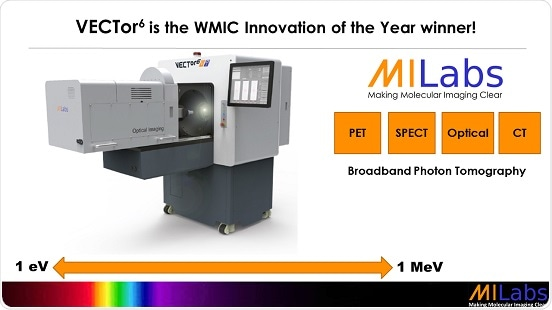 MILabs' VECTor6 system wins Commercial Innovation Award at WMIC 2018