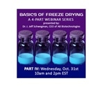Renowned freeze-drying expert presents webinar on basics of lyophilization