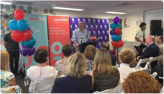 At Butterfly house Prime Minister Scott Morrison & Greg Hunt announced an investment into changing the public health system and significant funding for eating disorders.