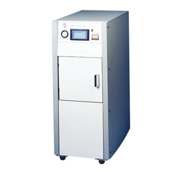 Cylindrical Autoclave for Laboratories Without Drains or Water Supplies