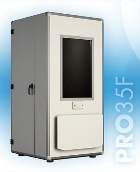 Puma's PRO 35F Modular Soundproof Audiometric Booth