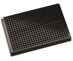 New black Porvair Krystal UV Quartz microplates for Circular Dichroism measurements