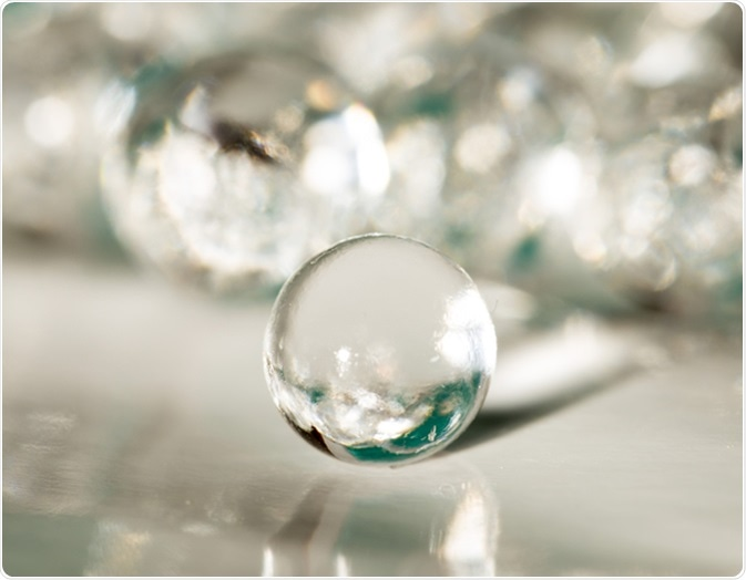 Balls of the hydrogel. Image Credit: Donikz / Shutterstock