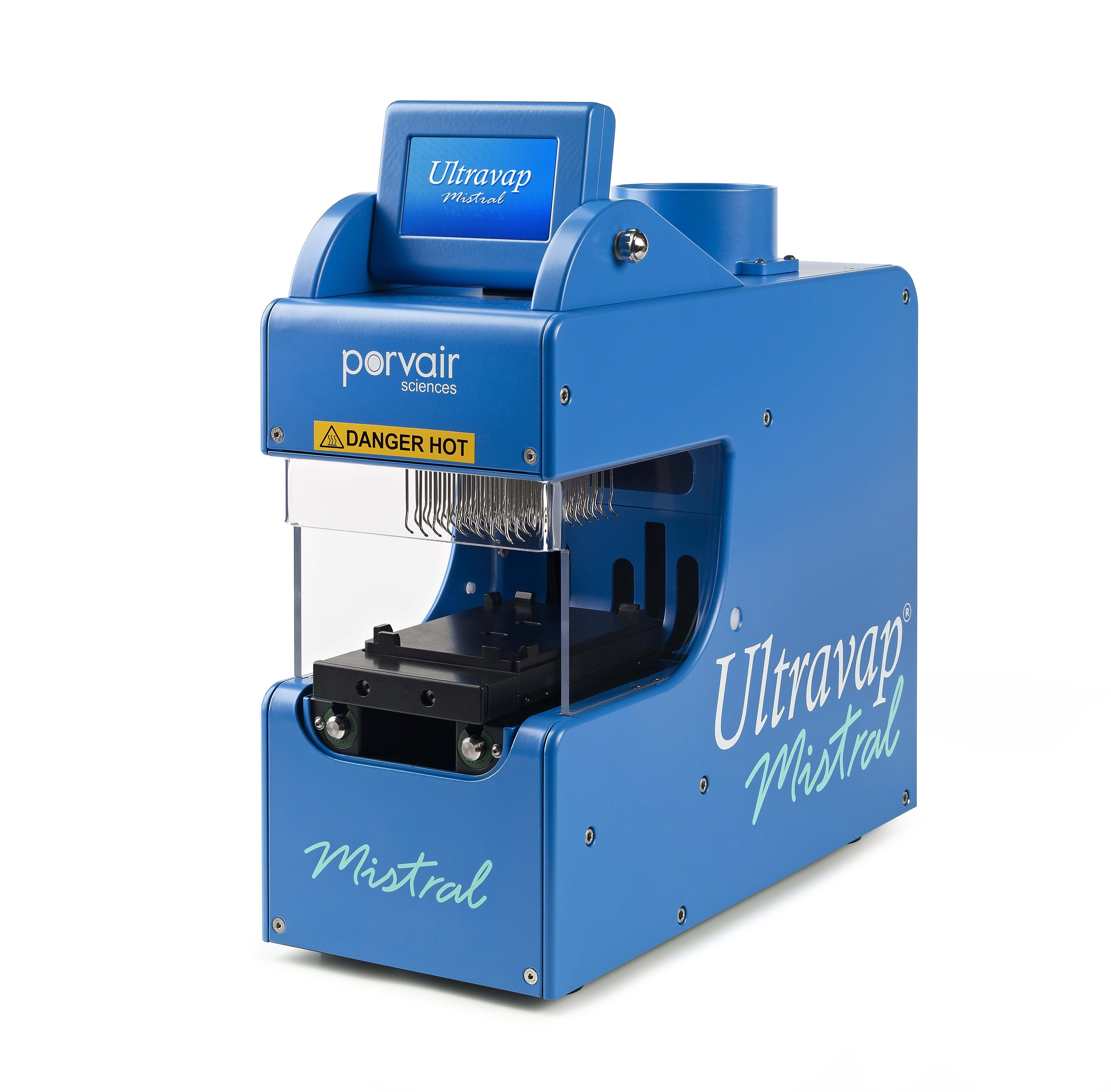 Ultravap Mistral fully robot compatible Blowdown Evaporator Without needle head, 110/230V