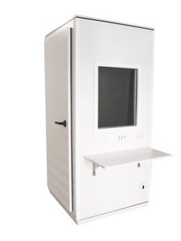 S-BASIC Audiometric Test Booth from Sibelmed