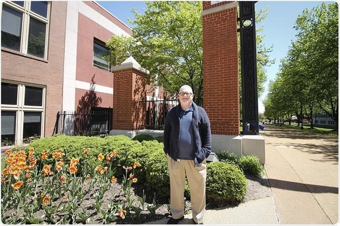 Jeffrey Scherrer, Ph.D., is a professor of family and community medicine at Saint Louis University. Photo by Ellen Hutti.