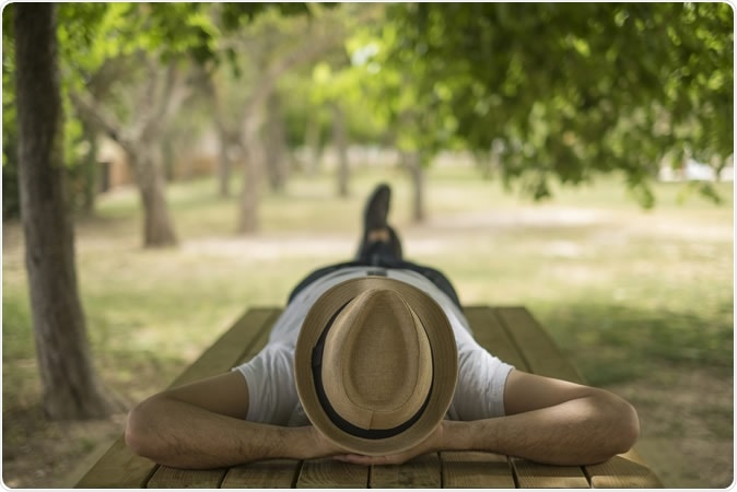 People who nap once or twice per week have a lower risk of incident CVD events