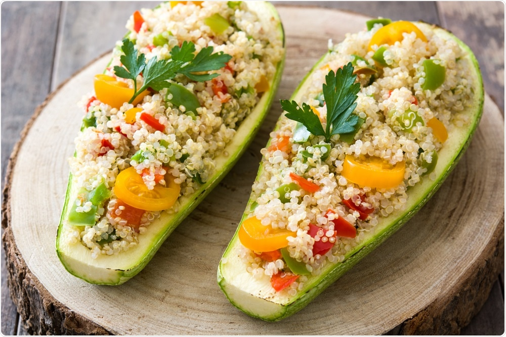 vegan diets are plant-based, and include foods such as this