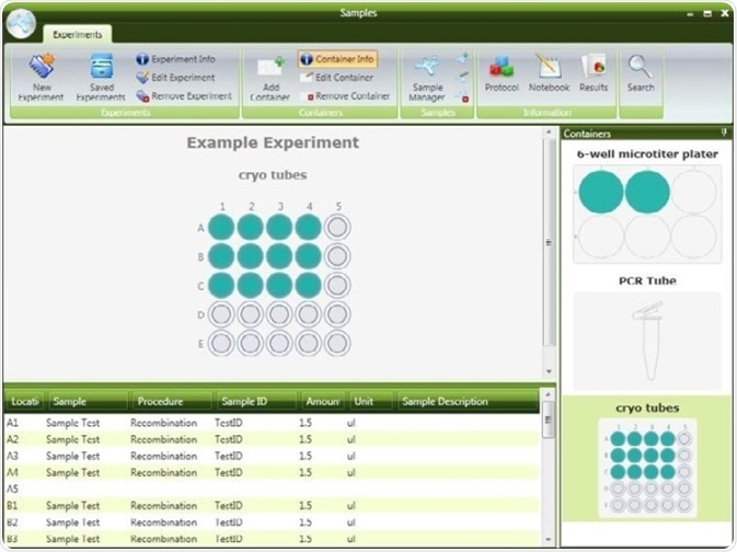 Laboratory Sample Management Software
