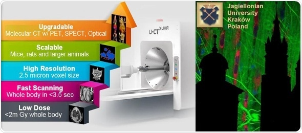 MILabs installs pre-clinical Adaptive microCT scanner at Jagiellonian University in Poland
