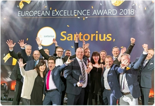 Sartorius wins double award at Fisher Scientific European Sales Conference