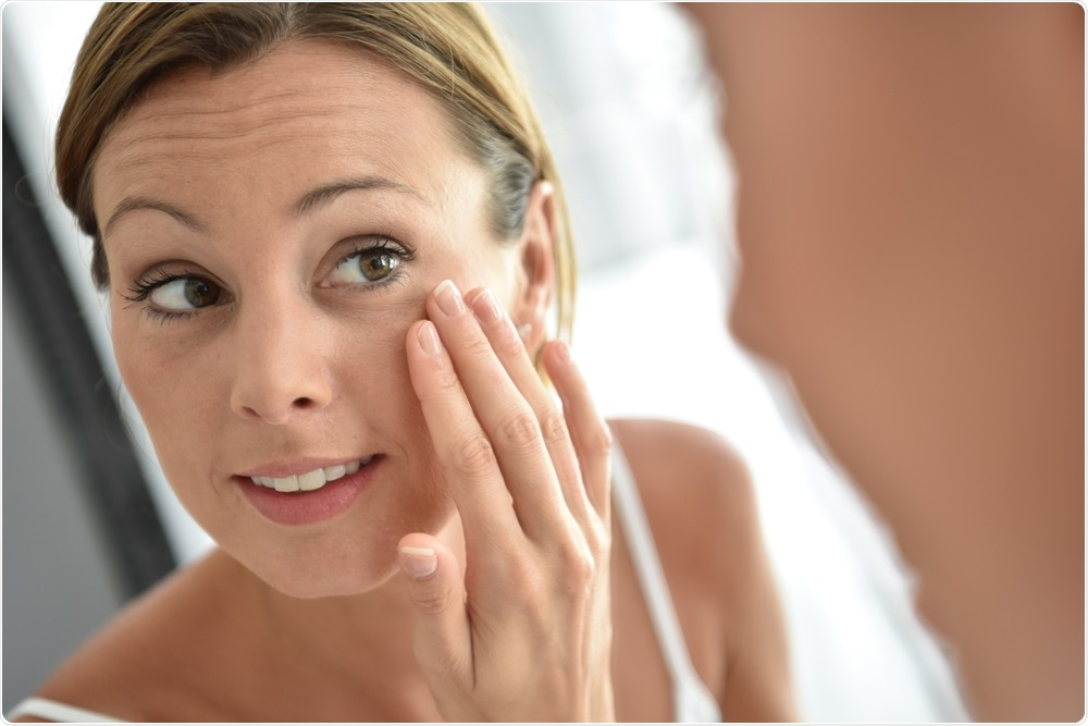 The study found that people often miss the eyelid area when applying sunscreen
