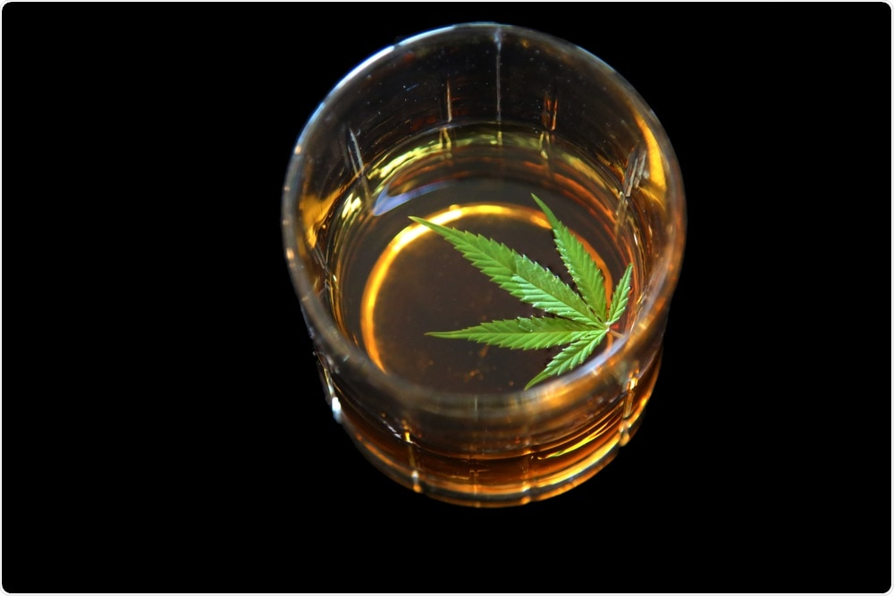 Alcohol interacts with cannabis and other drugs