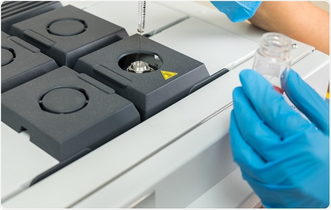 Mass spectrometry is a highly sensitive and versatile tool commonly used in forensic laboratories for the screening and identification of known and unknown substances.