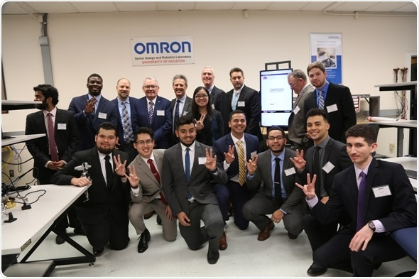 Omron donates cutting-edge laboratory to help UH engineering students gain real-world skills