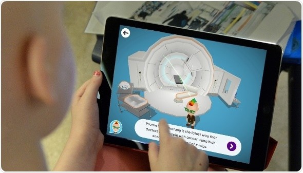 'Xploro' app helps pediatric cancer patients at The Christie understand proton beam therapy