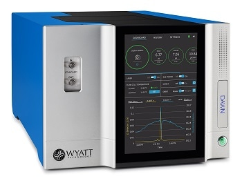 DAWN Multi-Angle Light Scattering Detector from WYATT