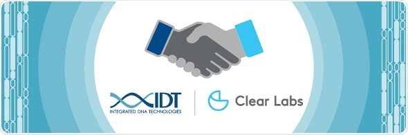 IDT chosen as primary supplier of NGS oligo products for Clear Labs' NGS-based food safety platform