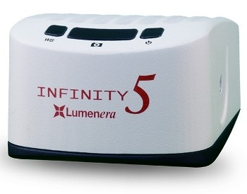 Lumenera's INFINITY5-5 High-Quality 5-Megapixel Microscopy Camera