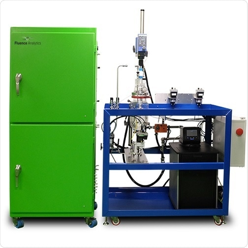 Smart system for continuous online monitoring of polymerization reactions