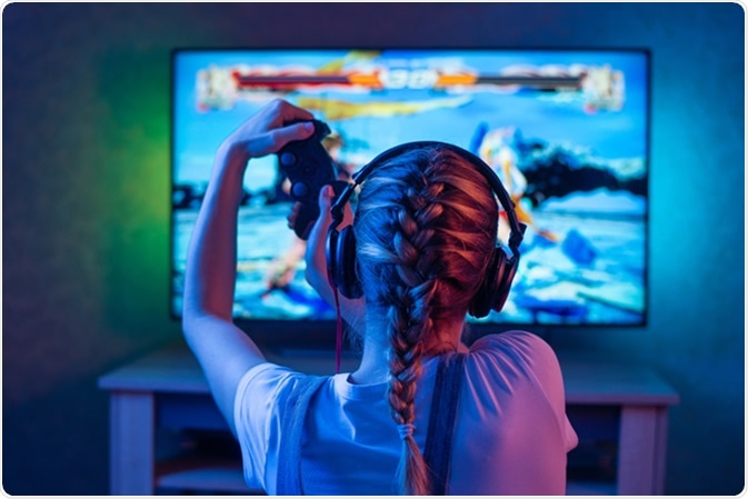 A young video gamer. Image Credit: Anton27 / Shutterstock