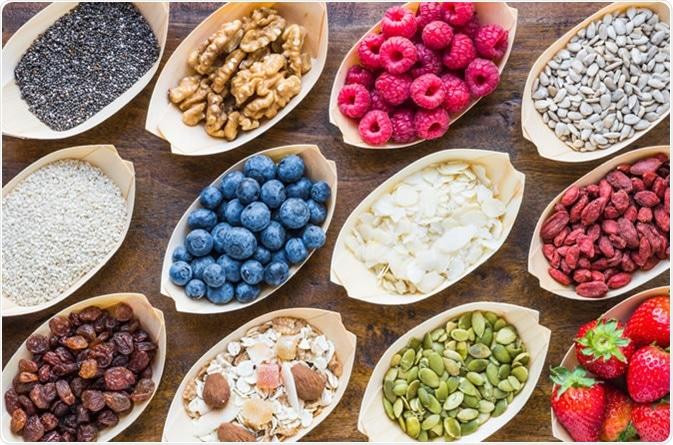 Fruits, berries, nuts - Image Credit: Leonoria / Shutterstock