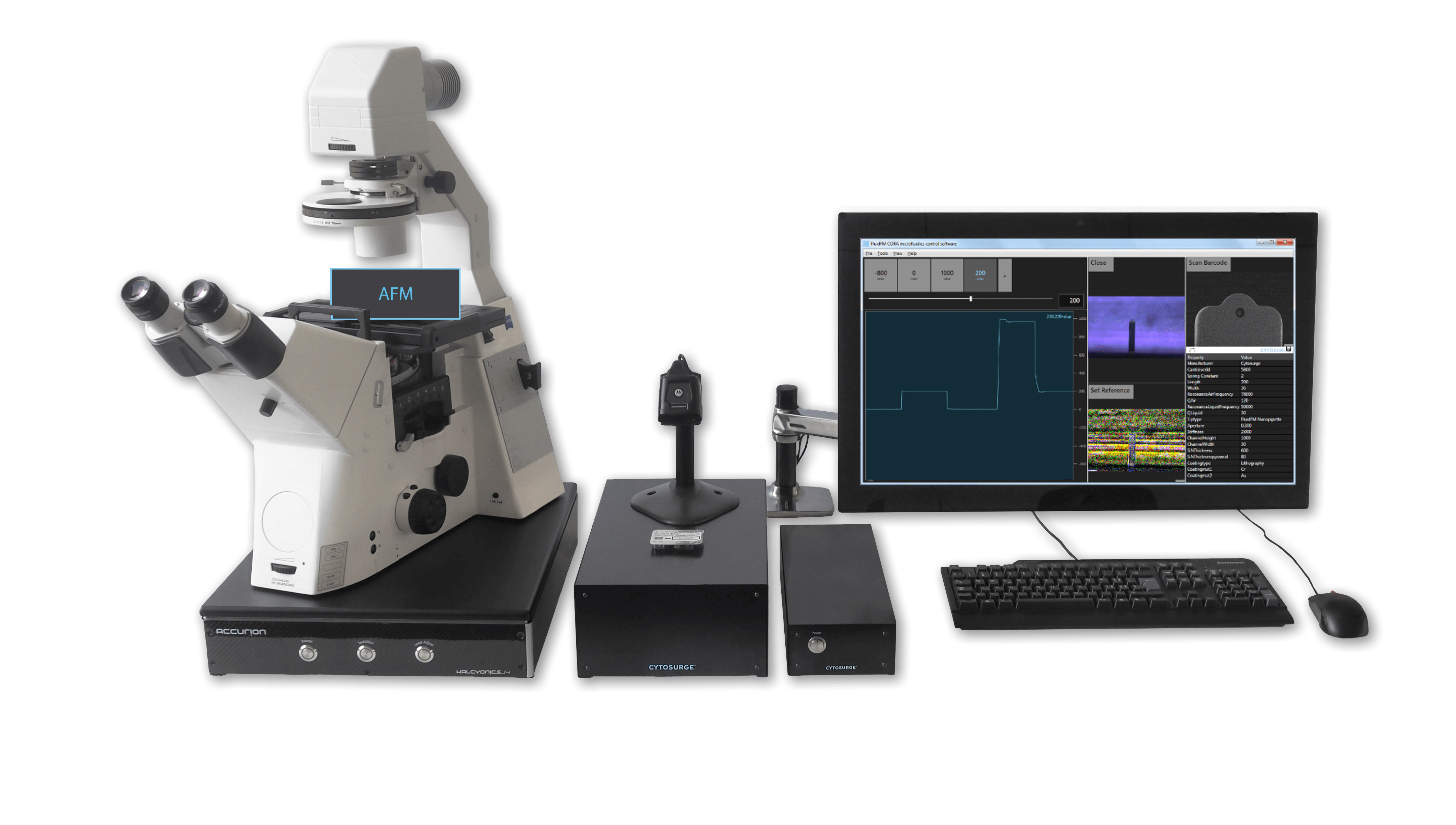 FluidFM® ADD-ON for Your Existing AFM Instrument