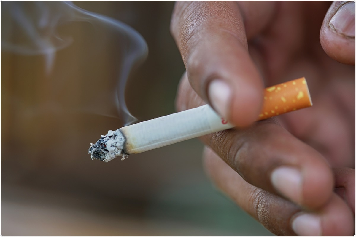 Smoking may increase some people's risk of testing positive for COVID-19