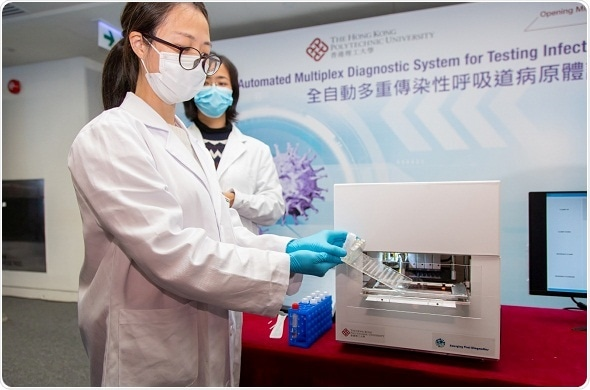 PolyU develops fully automated, rapid diagnostic platform for detecting respiratory infectious diseases