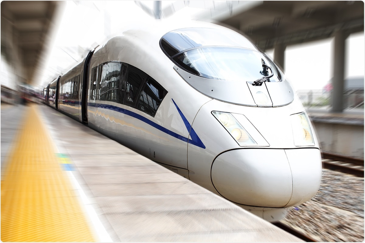 Chinese high-speed rail. Image Credit: Rickyd / SHutterstock