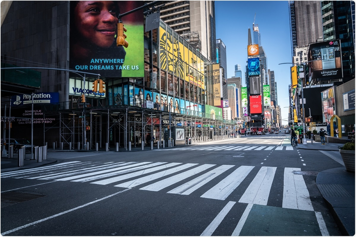 Study: COVID-19 Transmission Dynamics and Effectiveness of Public Health Interventions in New York City during the 2020 Spring Pandemic Wave. Image Credit: GetCoulson / Shutterstock