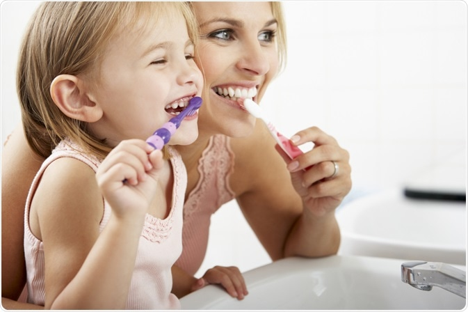 Maintaining oral health care at a young age