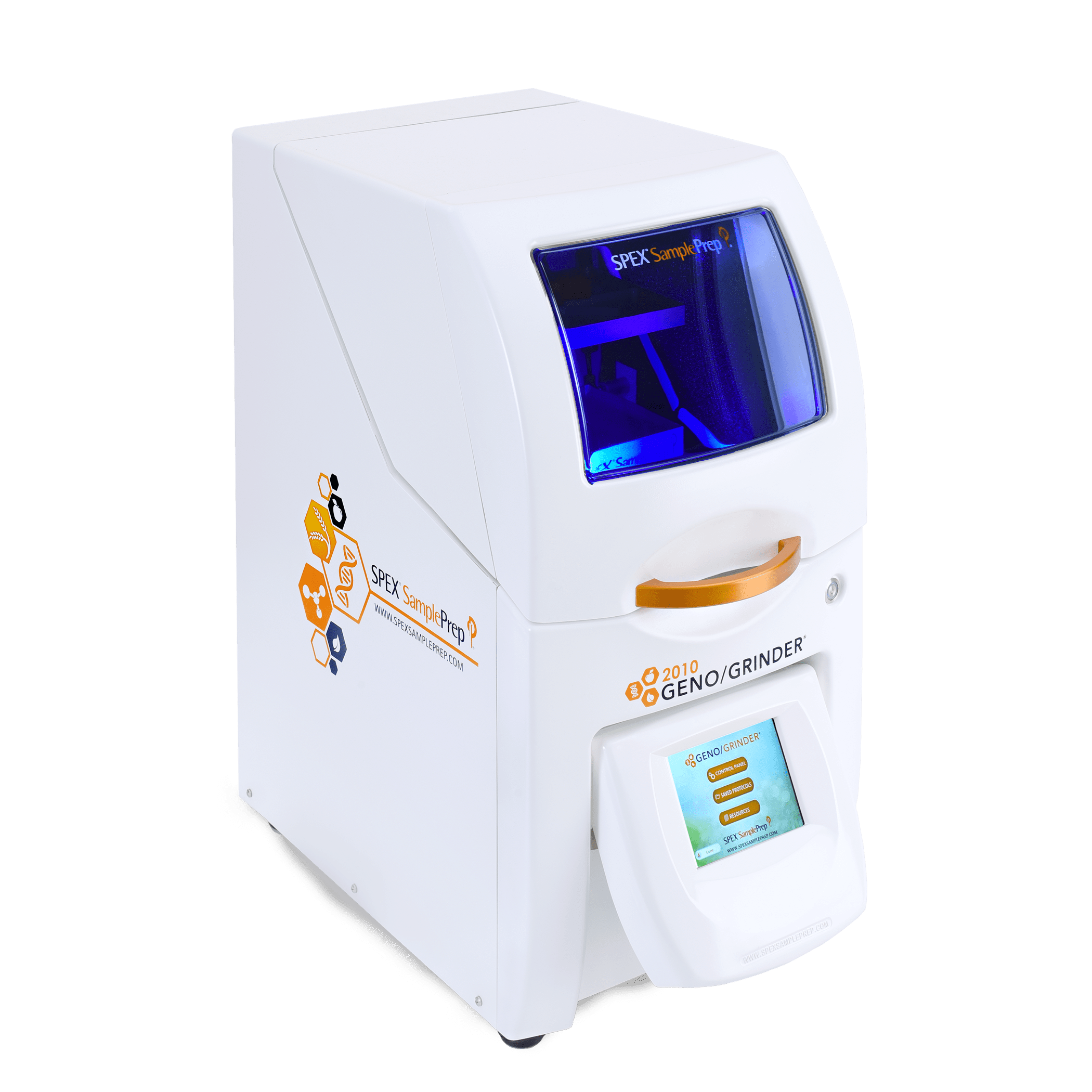 SPEX's 2010 Geno/Grinder® Automated Tissue Homogenizer and Cell Lyser