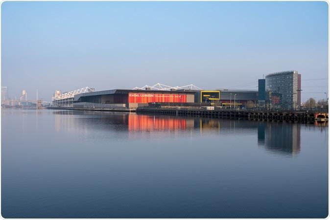 Excel London Conference Centre à London Docklands. Crédit d'image: Steve Heap / Shutterstock