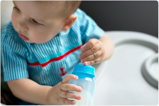 JAMA Pediatrics Special Communication April 13, 2020 - Assessment of Evidence About Common Infant Symptoms and Cow's Milk AllergyImage Credit: Natalia Belay / Shutterstock