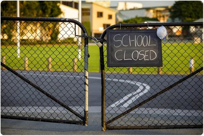 École fermée, Gold Coast QLD, Australie. Crédit d'image: Zorro Stock Images / Shutterstock