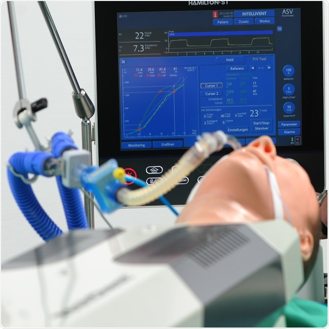 TestChest ICU Adult Autonomous Lung Simulators