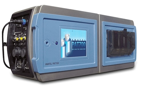 Closed view of the ANATEL PAT700 Total Organic Carbon Analyzer.