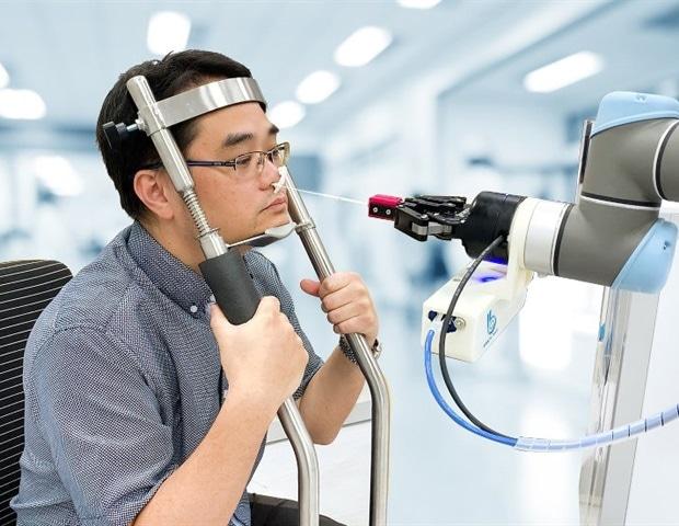 Brain Navi develops new nasal swab robot to prevent cross infections