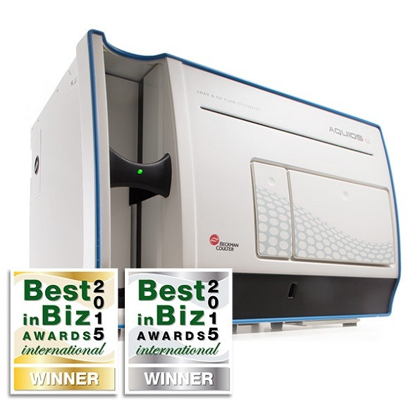 Awards for Aquios CL Flow Cytometer