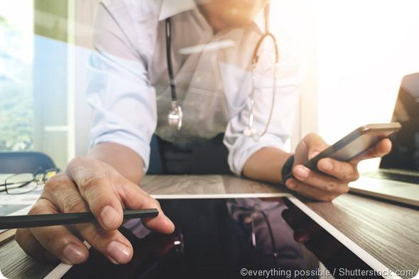 Doctor digital tablet