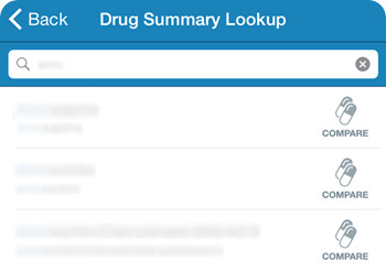 Drug Look-up PDR